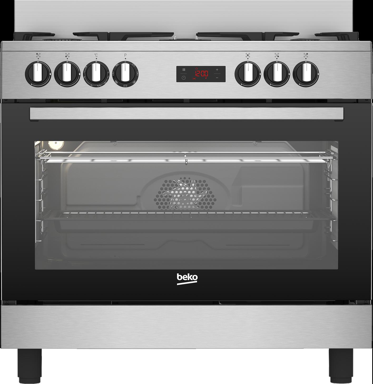 BEKO GM15325DX - Cuisinière gaz