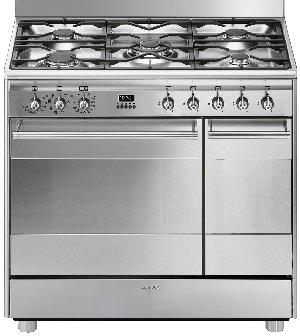 SMEG SCB92MX8 - Centre de cuisson