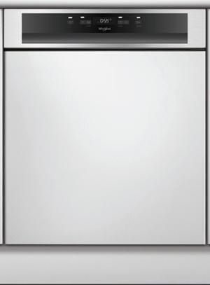 WHIRLPOOL WBC3C26X - Lave-vaisselle intégrable bandeau
