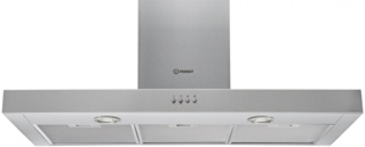 INDESIT IHBS9.4LMX - Hotte décorative murale
