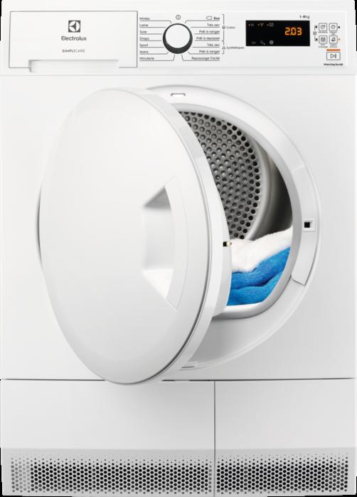 ELECTROLUX EW7H4801SC - Sèche-linge pompe à chaleur