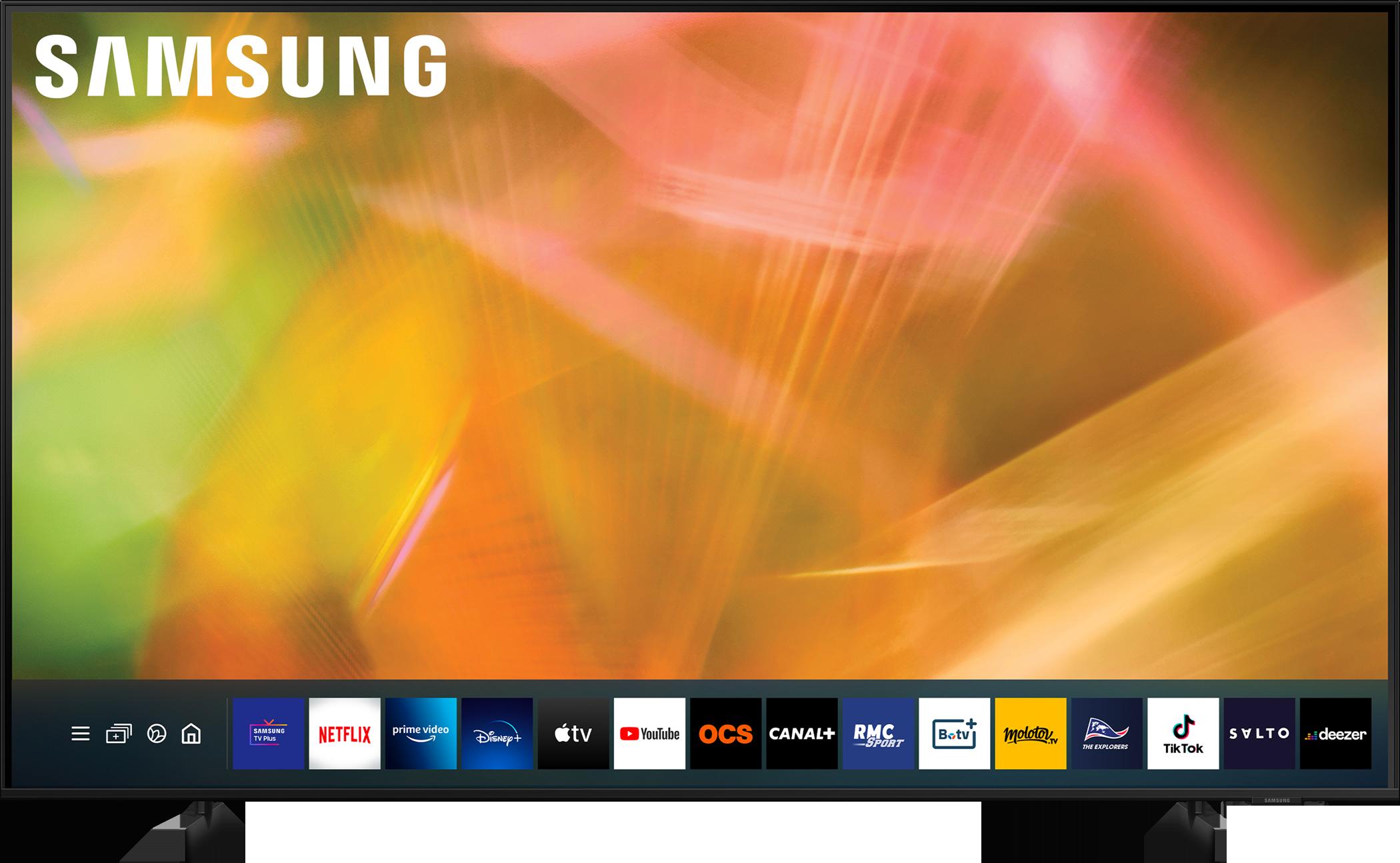 SAMSUNG UE55AU8075UXXC - Téléviseur LED