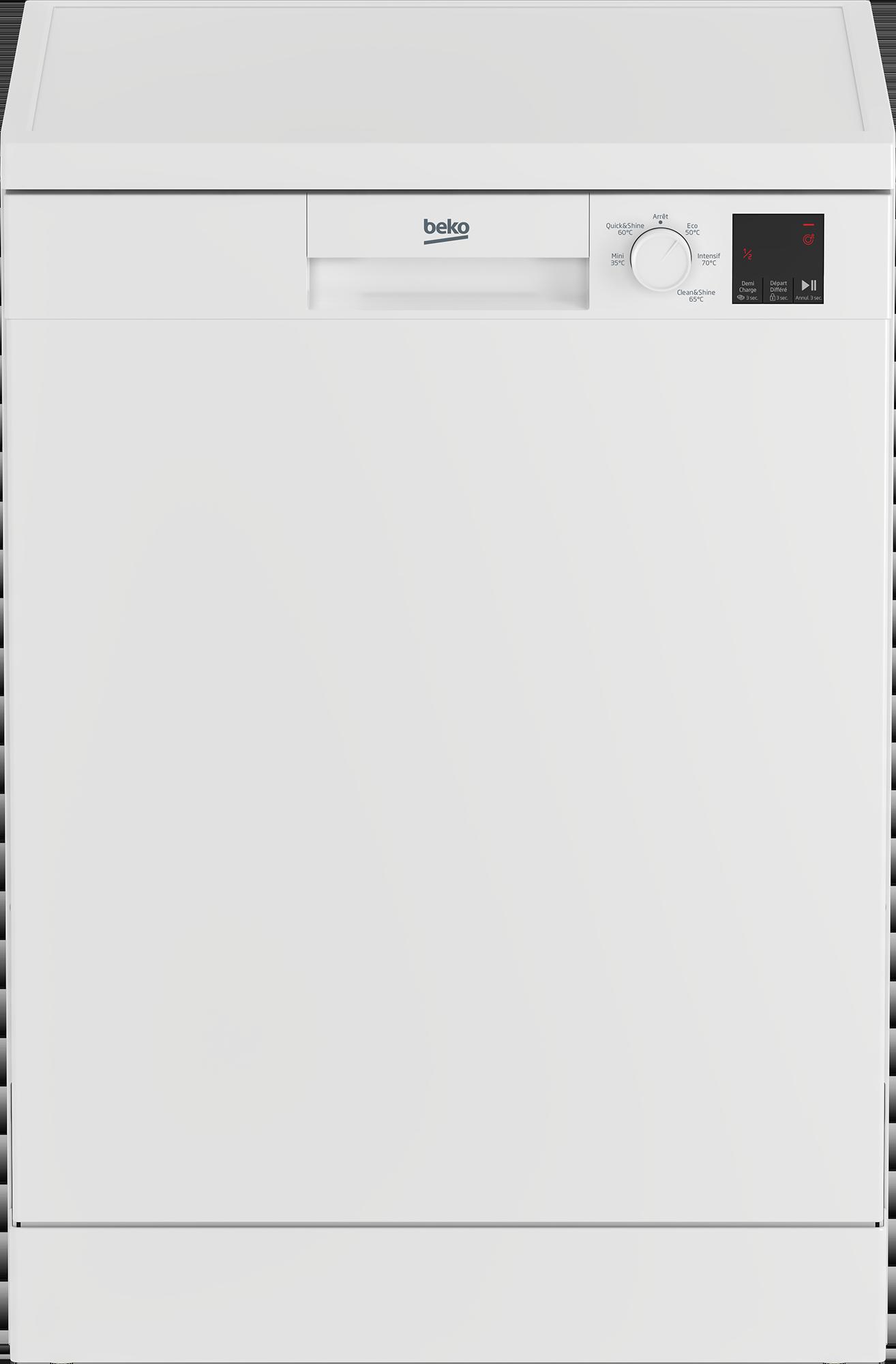 BEKO TDFV15315W - Lave-vaisselle 60 cm