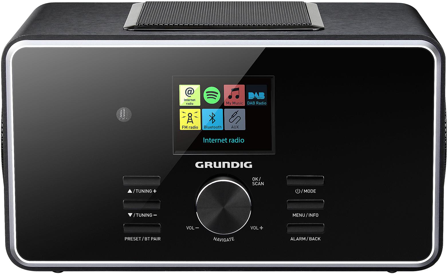 GRUNDIG TR3350DABB - Radio réveil