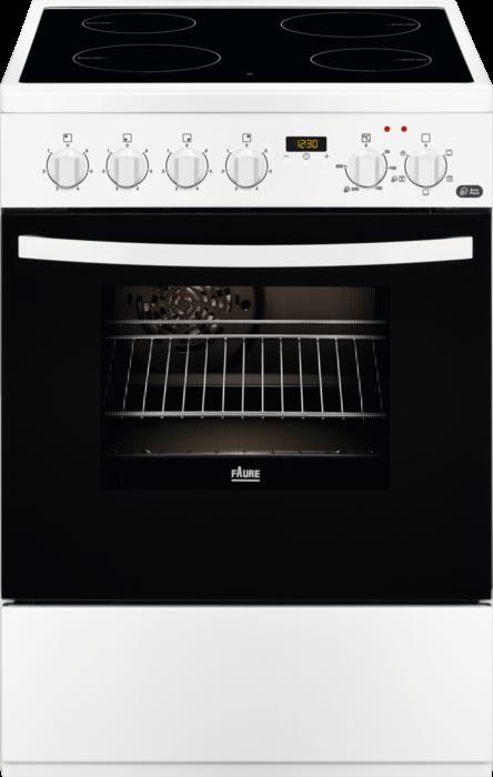 FAURE FCV6530CWA - Cuisinière vitrocéramique