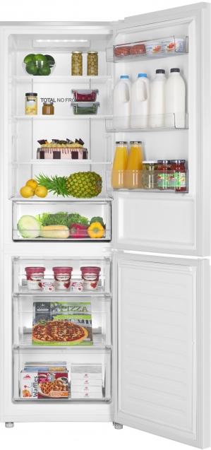 HAIER HDR3619FNPW - Réfrigérateur combiné
