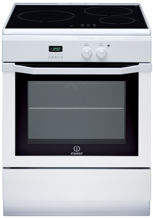 INDESIT IC63I6C6A(W)/FR-NEW - Cuisinière induction