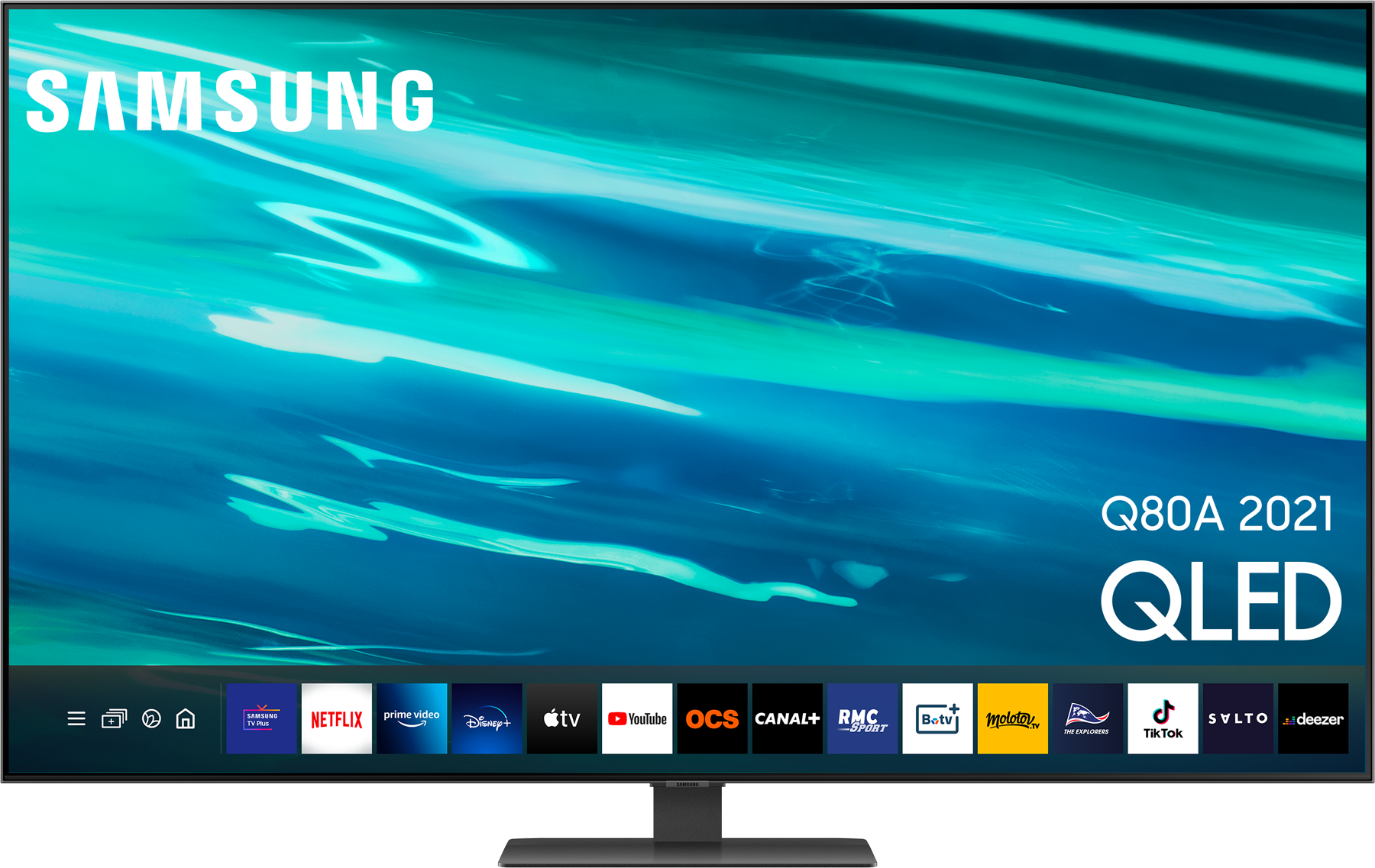 SAMSUNG QE55Q80AATXXC - TELEVISEUR QLED