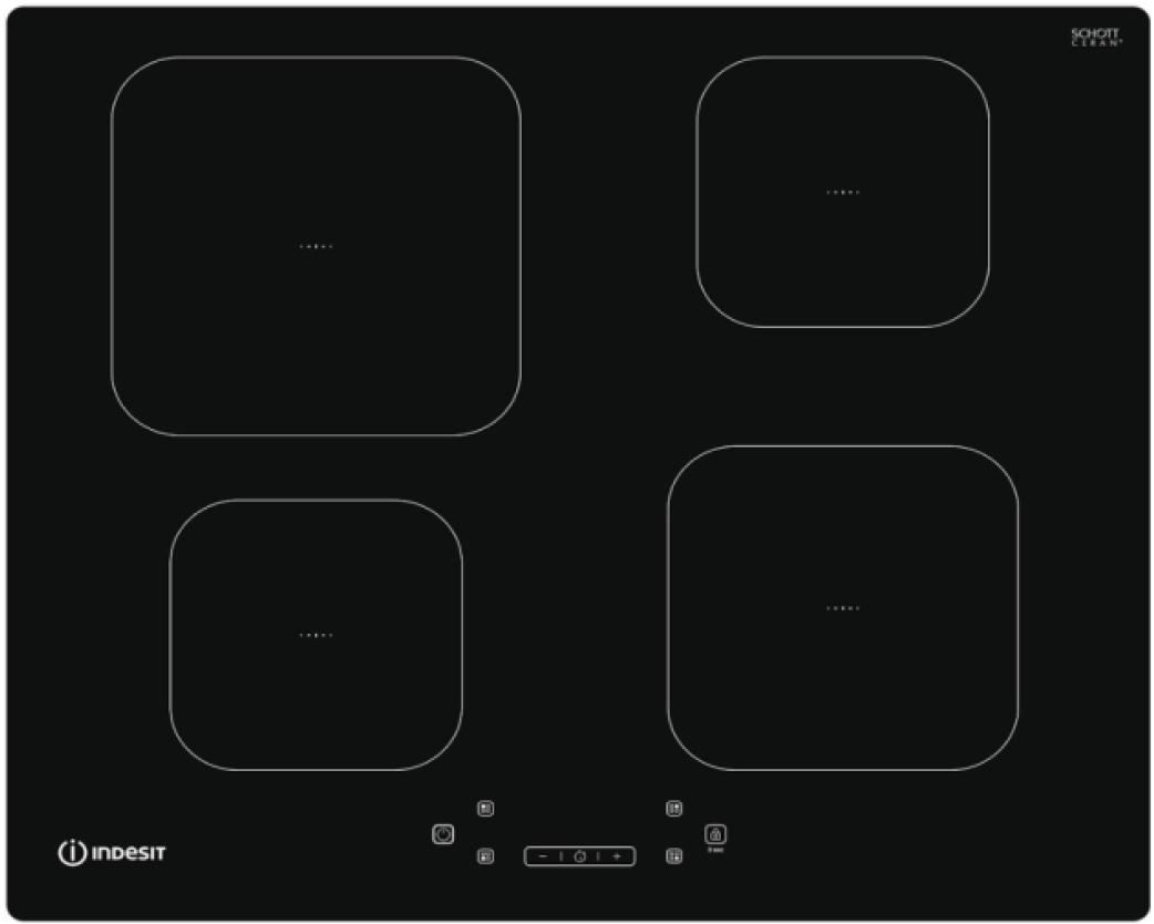 INDESIT IS83Q60NE - Table induction