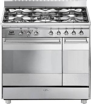 SMEG SCB92PX8 - Centre de cuisson