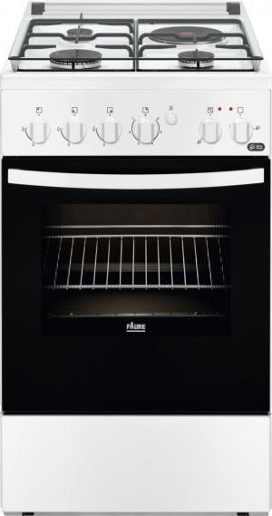 FAURE FCM54041WA - Cuisinière mixte