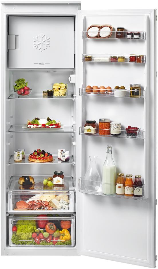 CANDY CFBO3550E/N - Réfrigérateur 1 porte intégrable