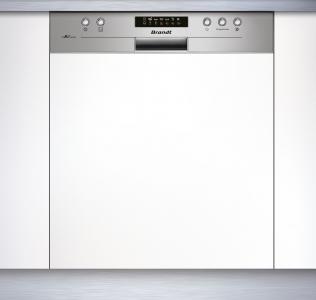 BRANDT VH1704X - Lave-vaisselle intégrable bandeau