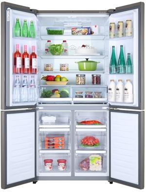 HAIER HTF-610DM7 - Réfrigérateur multi-portes