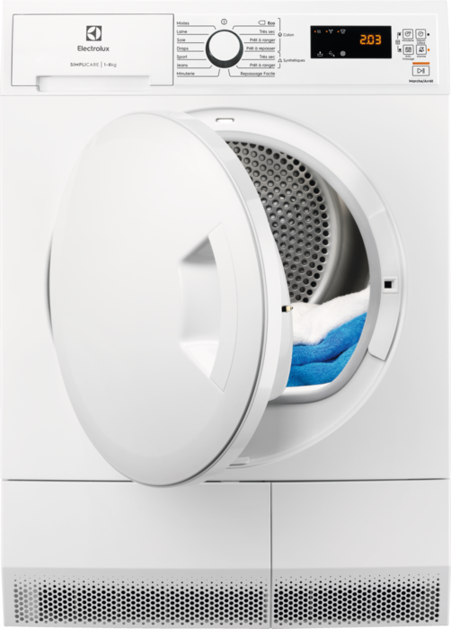 ELECTROLUX EDHF2812WC - Sèche-linge pompe à chaleur