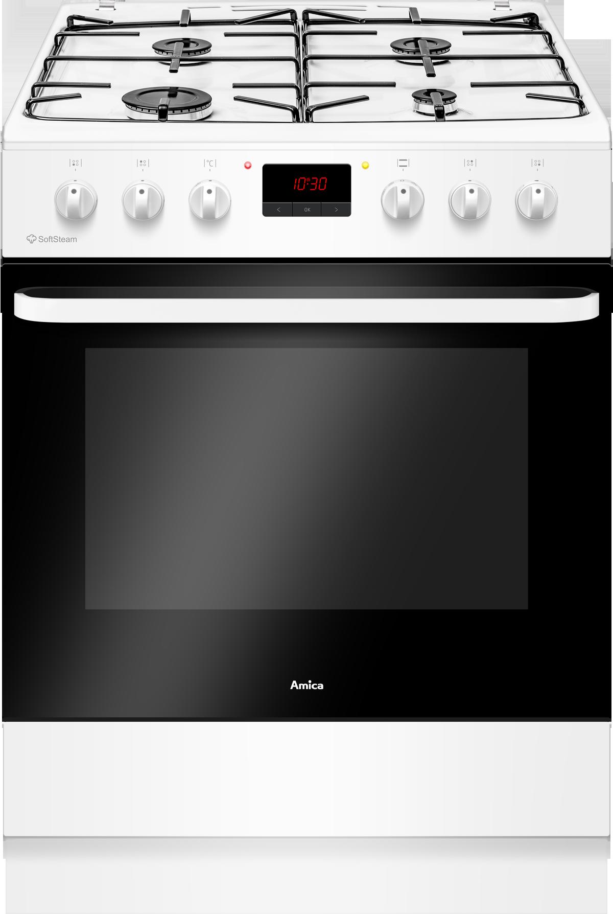 AMICA ACM6004VB - Cuisinière mixte