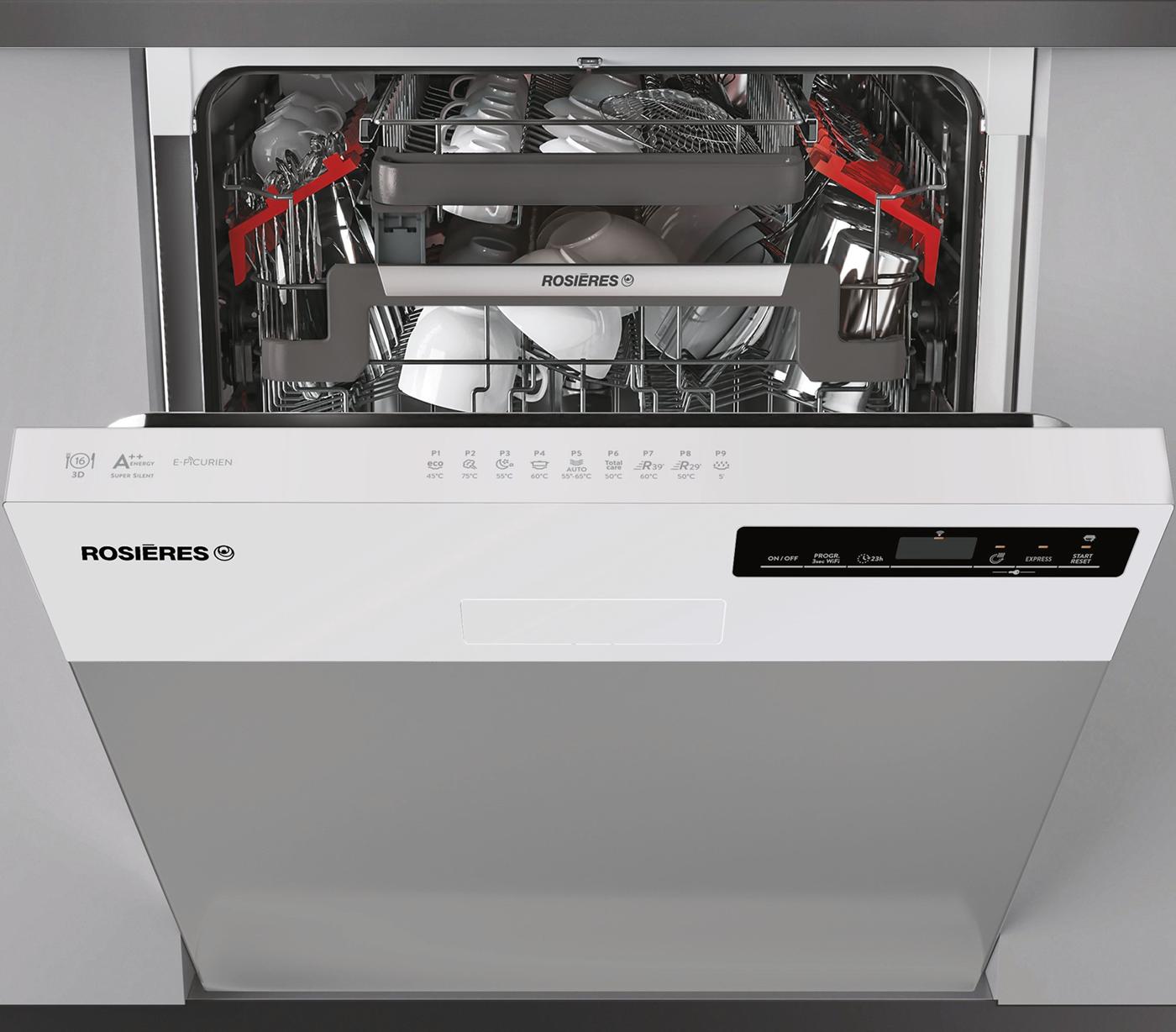 ROSIERES RDSN2D622PW-47E - Lave-vaisselle