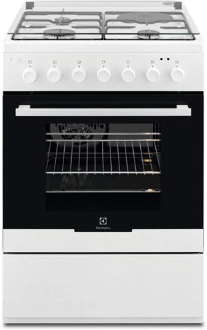 ELECTROLUX EKM60398OW - Cuisinière mixte