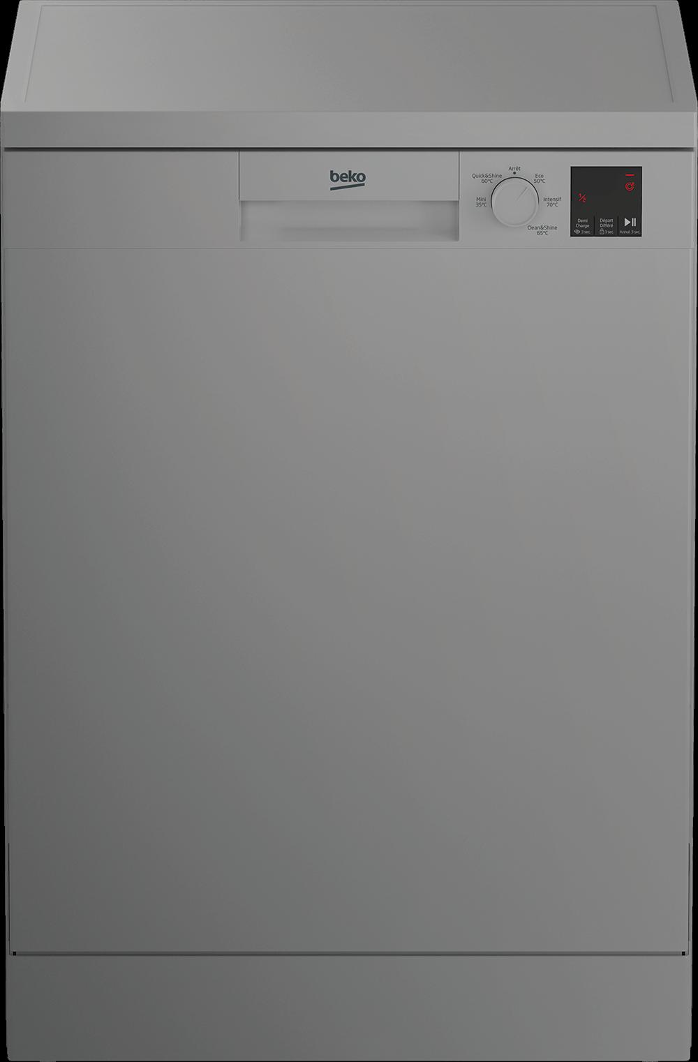 BEKO TDFV15315S - Lave-vaisselle 60 cm