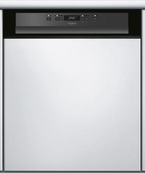 WHIRLPOOL WBC3C26B - Lave-vaisselle intégrable bandeau