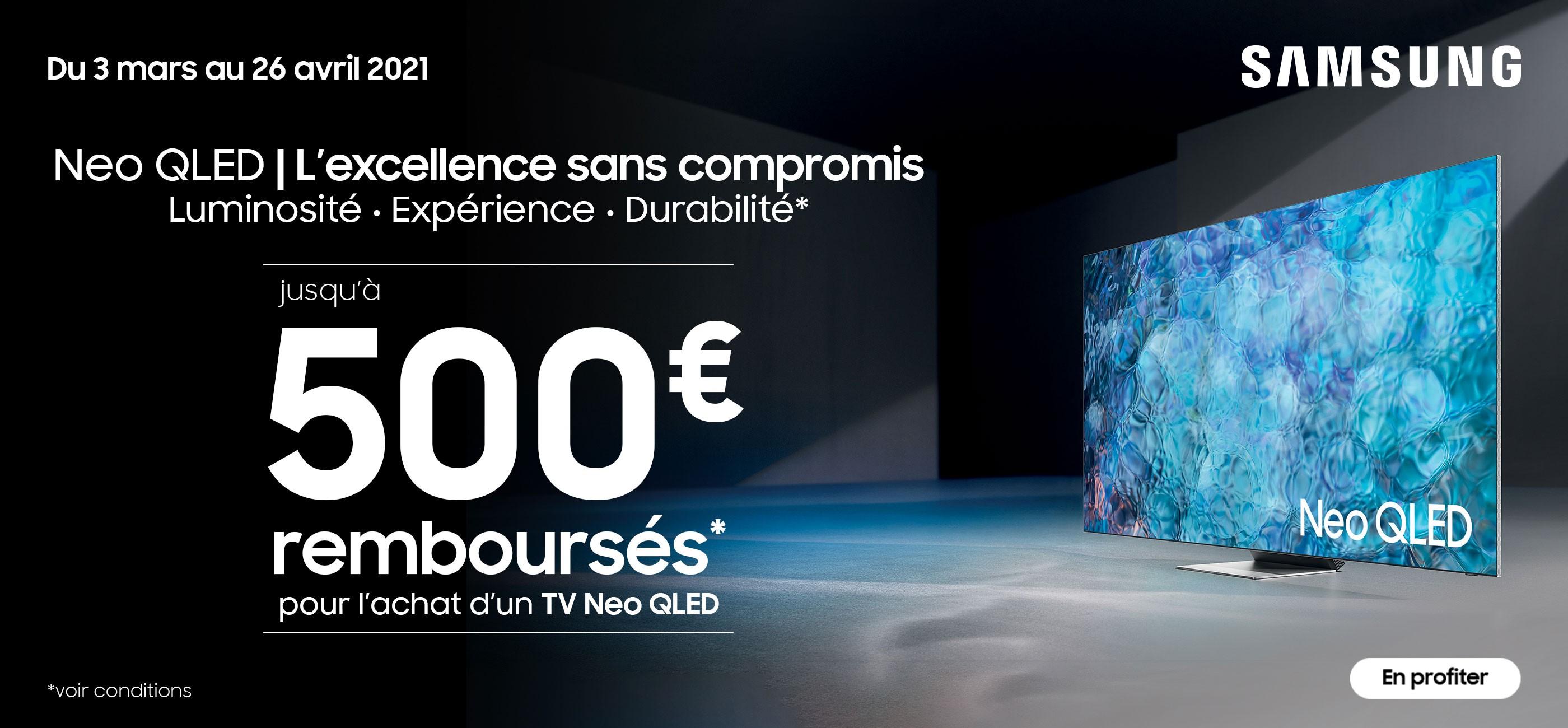 Samsung 100 euros sur une sélection de réfrigérateurs