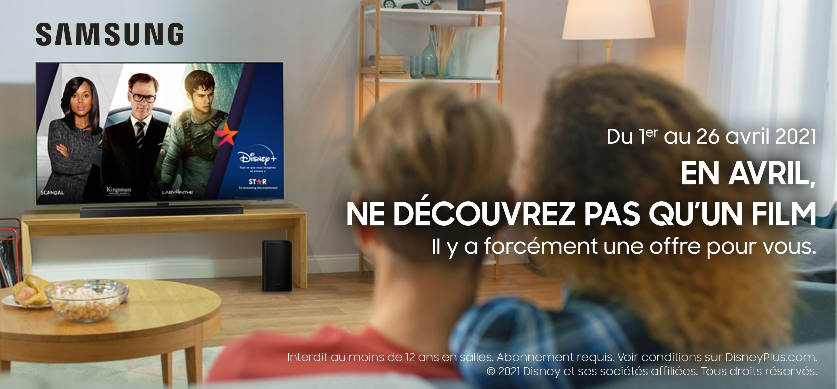 Offre Samsung / Disney +